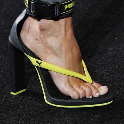 Rihanna wants us to wear flip flop heels & we can't work out if we're being trolled