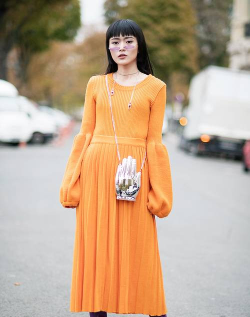 The Cold-Snap Dress Trend Every Brit Girl Loves to Wear
