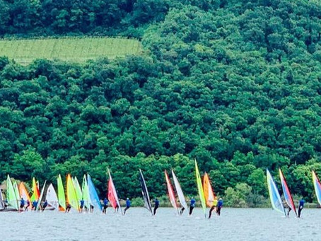Regata nazionale Windsurfer sul lago di Caldaro: gli atleti USQ nella top ten!