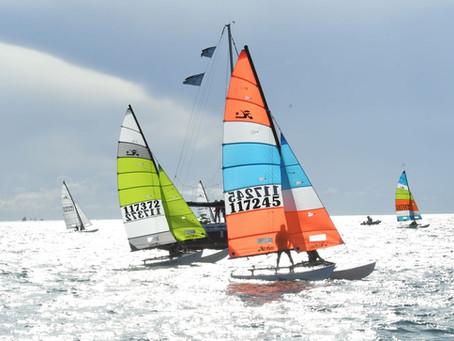 4° posto per Stefan Griesmeyer alla regata nazionale Hobie Cat 16 di Cagliari