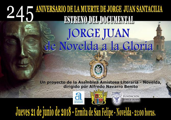 JORGE JUAN, EL CORTOMETRAJE