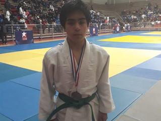 Alberth Vicecampeón de Judo