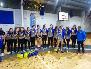 Selección de Voleibol logra el ascenso.