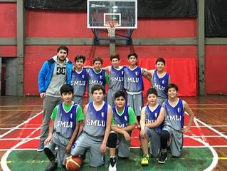 Selección de Basquetbol U14 gana su primer encuentro.