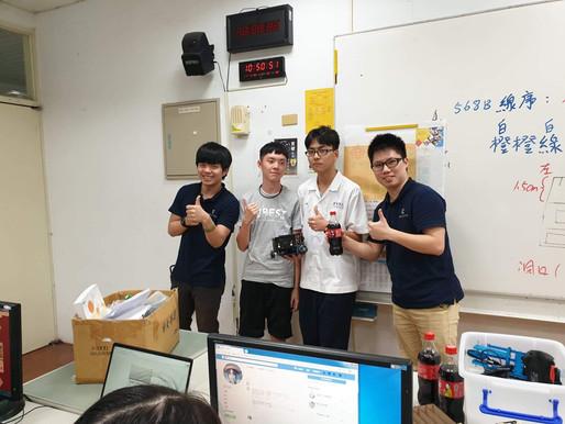 「瑞明系統科技」再次和「東部技術教育中心」合辦機器人推廣課程!
