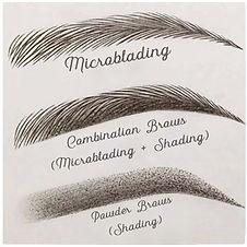 Types of microbladig Techniques
