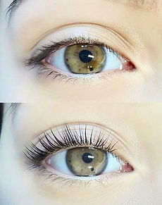Lash Lift Before and After, lash perm, curly lashes, eyelashes