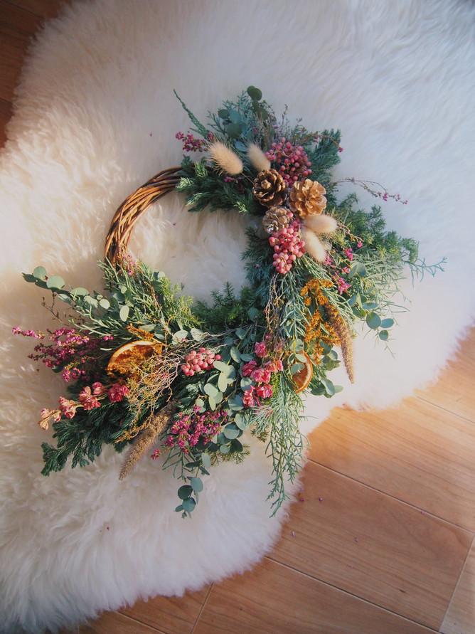 Winter Wreath販売いたします。
