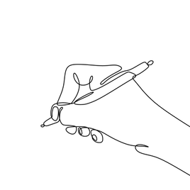 —Pngtree—hand writing continuous one line_4972663.png