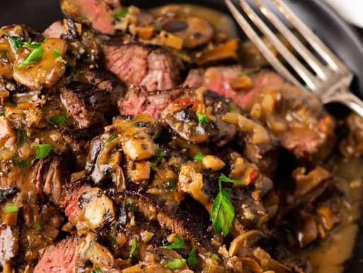 Sirloin Filet with Mushroom Marsala Sauce