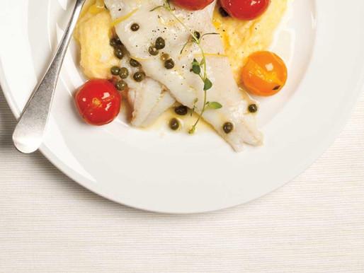 Sole with Tomato Caper