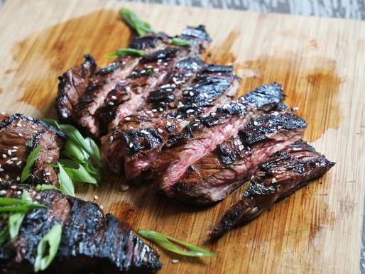 Flank Steak Asian Glazed