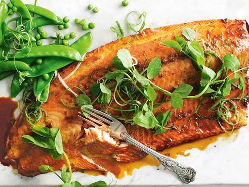 Salmon Asian-Style Marinated