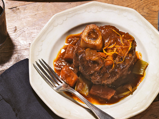 Braised Osso Buco w/ Root Vegetables