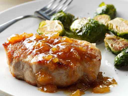 Pork Chop with Apricot Pineapple