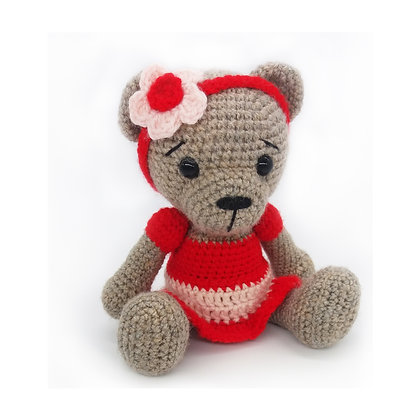 PATTERN - Teddy Bear Girl