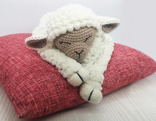 Blanket Toy Lamb PATTERN