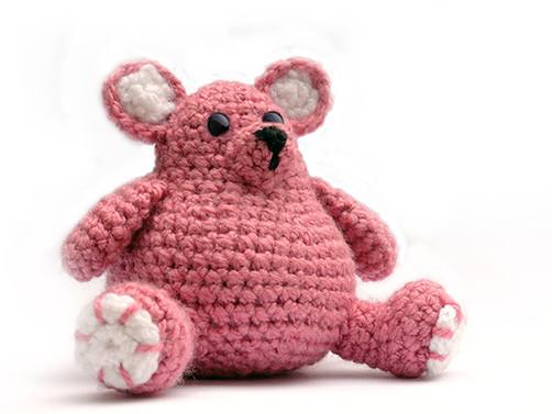 Amigurumi Crochet Chubby Bear
