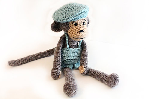 PATTERN - Monkey with hat