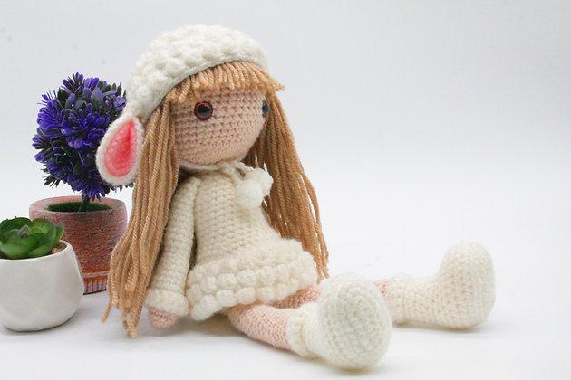 PATTERN -Lamb Girl