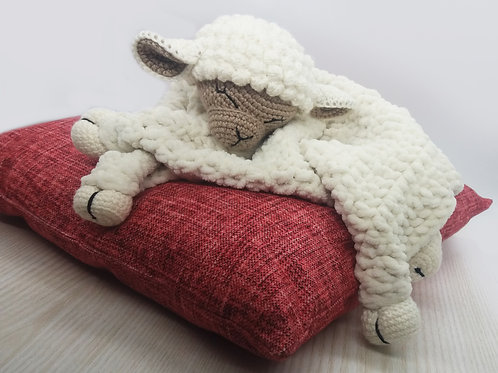 Blanket Toy Lamb PATTERN
