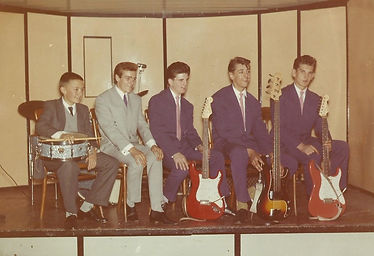 Graham Dee and his first band.jpg