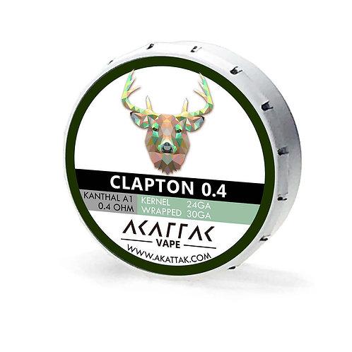 Clapton 04 Vape Coil Kanthal Wire Prebuilt Coils 20 Piece