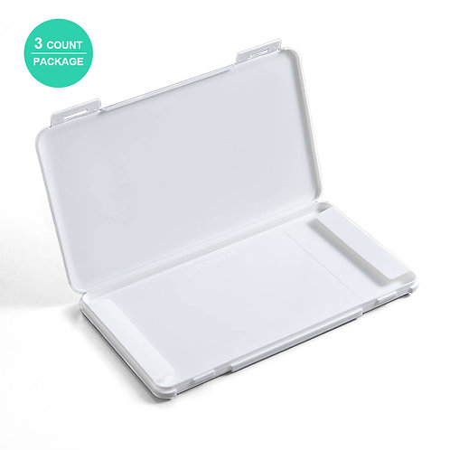 Portable Carrying Case for Disposable Face Masks Organizer Storage Clip Box