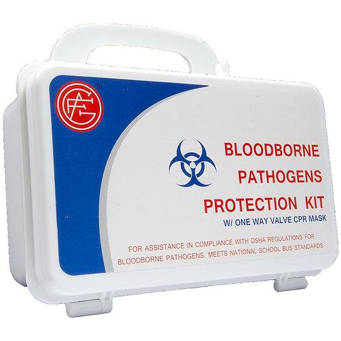 First Aid Bloodborne Pathogens Protection Kit
