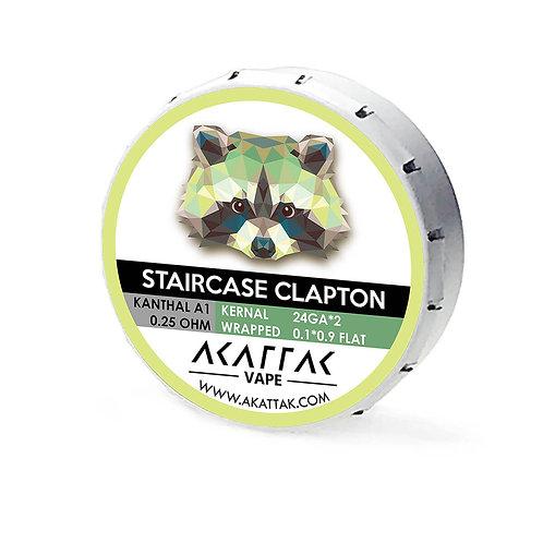 Kanthal Prebuilt Coil Staircase Clapton Vape Coils Wire 20 Piece