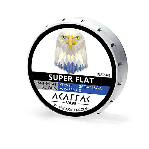 Kanthal Super Flat Prebuilt Coil 20 Piece Pack of 6