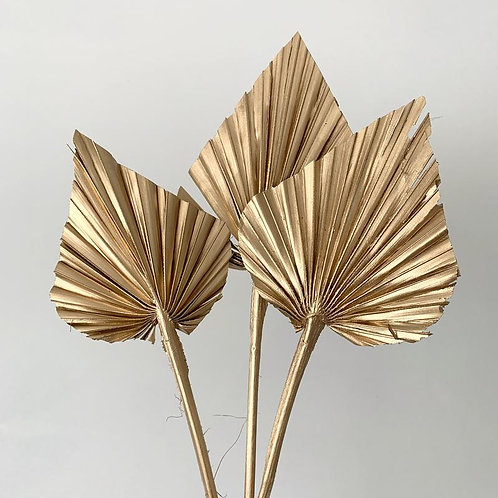 Gold palm spear