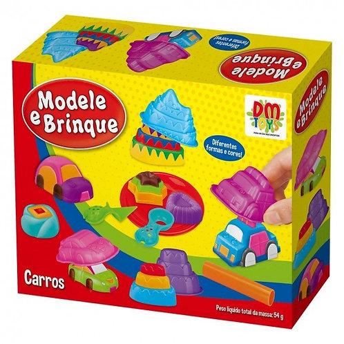 Brinquedo Modele e Brinque Carros - DM Toys