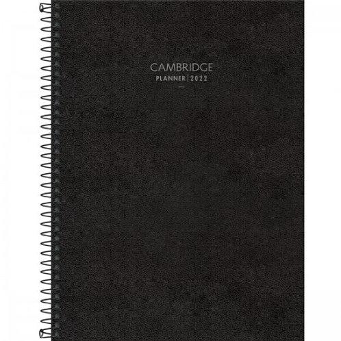 PLANNER EXECUTIVO ESPIRAL 20 X 27,5 CM CAMBRIDGE 2022 CÓD: 123684