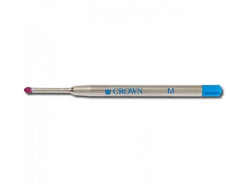 Carga Crown Tipo Parker Esfero Azul