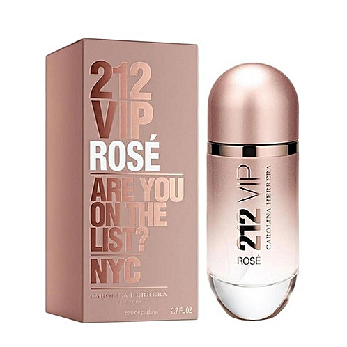 Perfume 212 Vip Rosé 80ml - Carolina Herrera