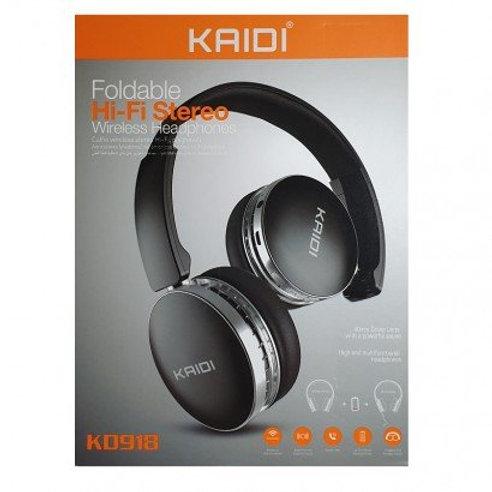Fone De Ouvido Wireless Kaidi Hi-fi Stereo KD918