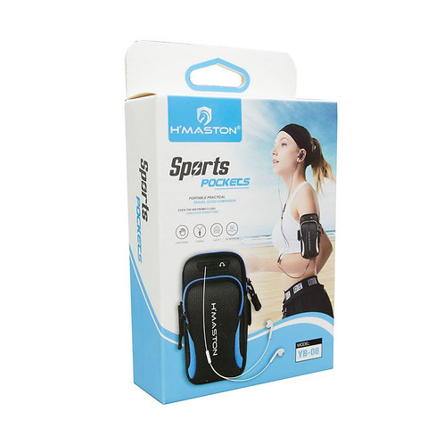 Suporte De Braço Para Esportes H.Maston Sports Pockets YB-06