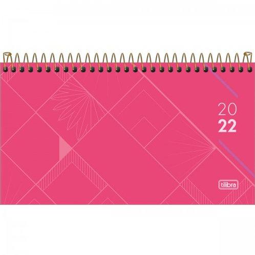 AGENDA EXECUTIVA ESPIRAL SEMANAL 16,7 X 8,9 CM SPOT FEMININA 2022