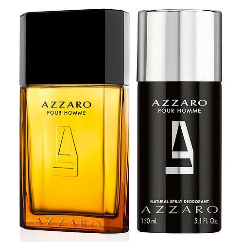 Kit Perfume Azzaro Pour Homme 100ml + Desodorante Spray