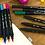 Thumbnail: Kit Brush Pen Byzmark Dual Tip Com 10 Cores