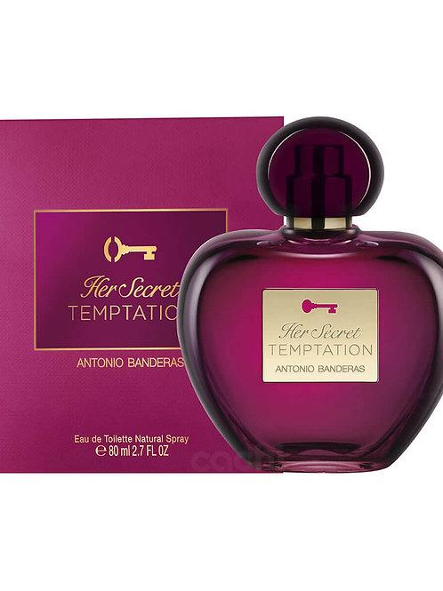Perfume Her Secret Temptation 80ml - Antonio Banderas