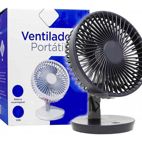 Mini Ventilador Portátil Recarregável Luatek LS-909