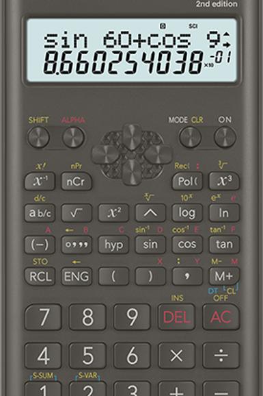 Calculadora Científica Casio fx-82MS - 2 Edição