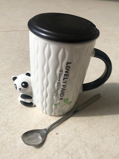 Caneca Cerâmica Panda