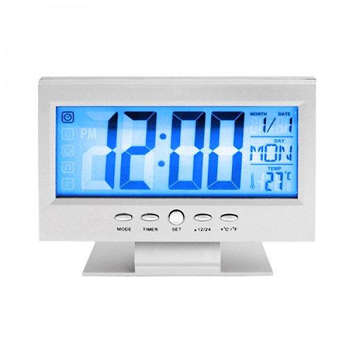 Relógio Digital Despertador De Mesa DS-8082