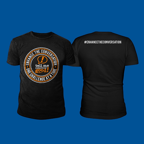 TMSG T-Shirt Black Short Sleeve