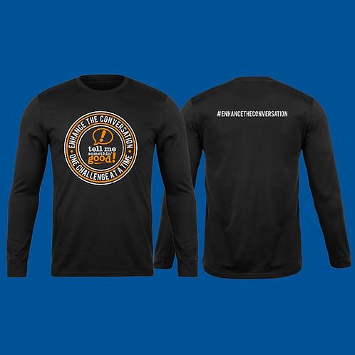 TMSG T-Shirt Black Long Sleeve