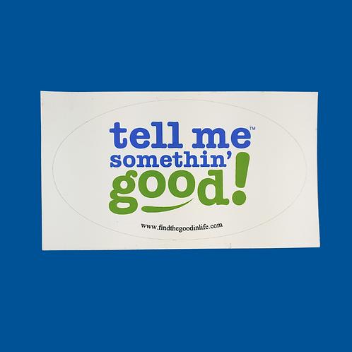 TMSG Oval Sticker