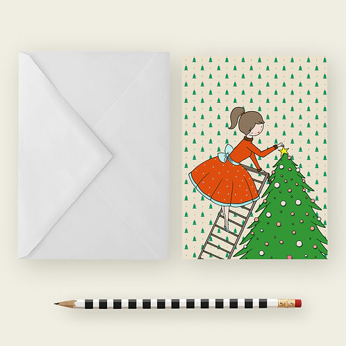 XMAS TREE / Greeting Card